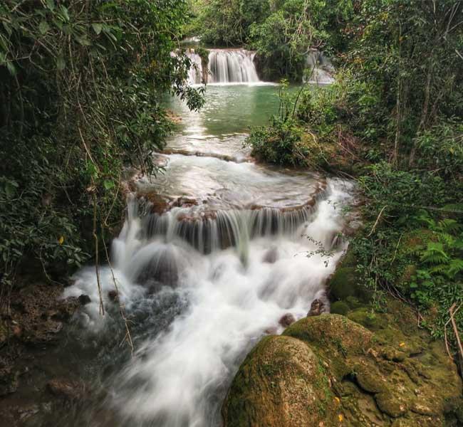 Ceita Core - Trilha das 6 Cachoeiras com 6 pontos para banho Bonito MS Bonito Incomparável