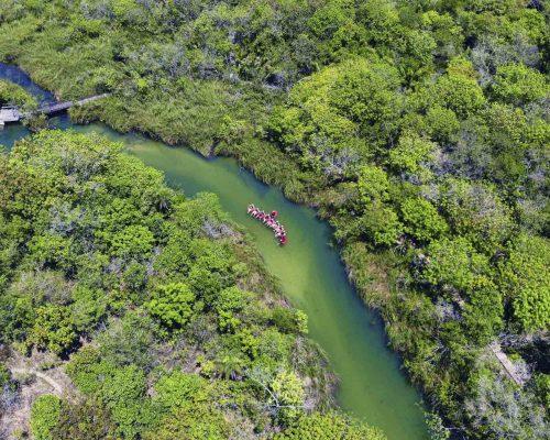 Parque Ecológico Rio Formoso - Vista aérea - Bonito MS Bonito Incomparável