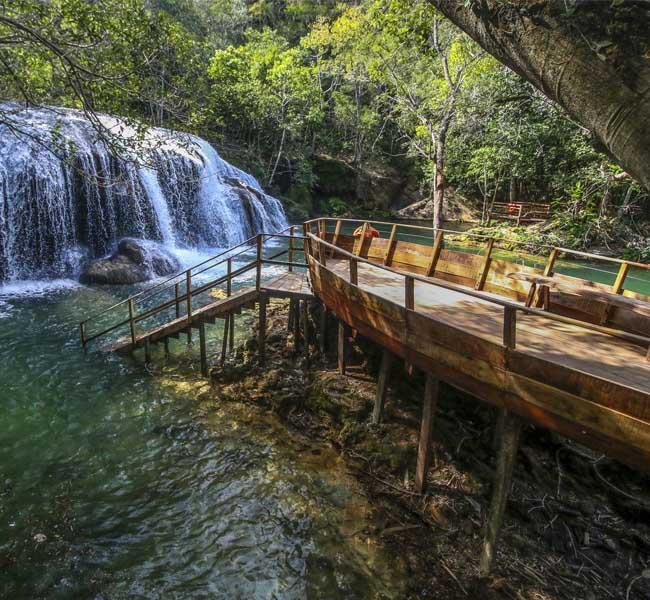 Parque das Cachoeiras - Cachoeira do Sinhozinho Bonito MS Bonito Incomparável