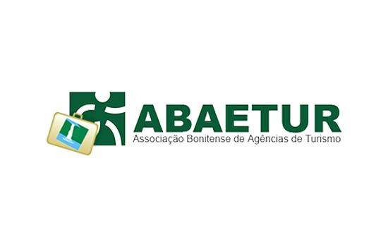 Logo ABAETUR Associação Bonitense de Agências de Turismo