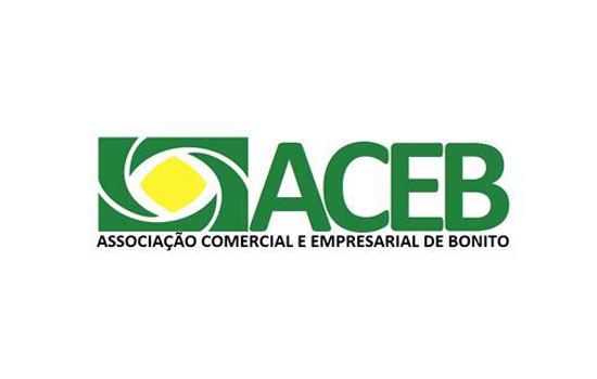 Logo ACEB Associação Empresarial e Comercial de Bonito
