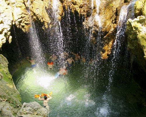 Cachoeira Buraco do Macaco Boca da Onça Bonito MS Brasil Bonito Incomparável