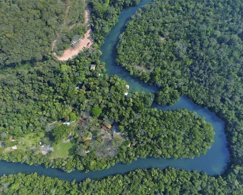 Eco Park Porto da Ilha - Vista aérea Bonito MS Bonito Incomparável Foto Ricneto