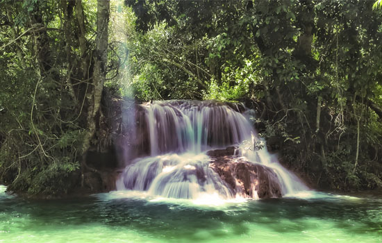 Fazenda Ceita Core 7 cachoeiras na Terra de Meus Filhos Bonito MS Bonito Incomparável