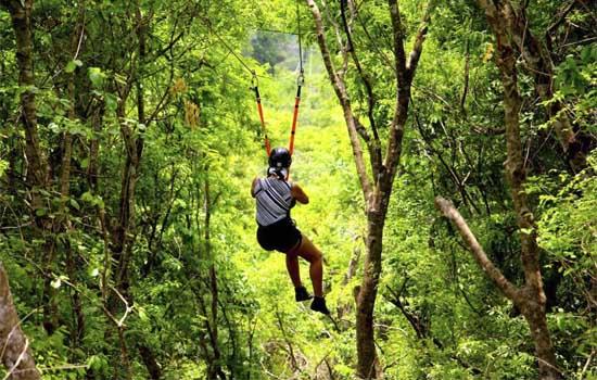 Parque Ecológico Rio Formoso - Tirolesa aárea Formoso Adventure Bonito MS Bonito Incomparável @gui_cavalheiro_