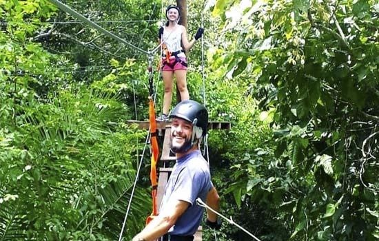 Parque Ecológico Rio Formoso - Trilha Suspensa do Formoso Adventure Bonito MS Bonito Incomparável Foto @laismurozaki
