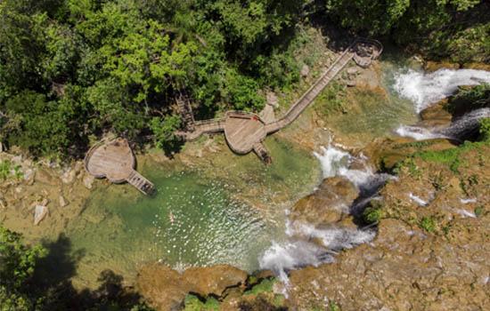 Parque das Cachoeiras - Cachoeira do Amor Bonito MS Bonito Incomparável