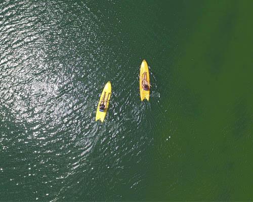 Praia da Figueira - Passeio de caiaque na Praia da Figueira Bonito MS Bonito Incomparável